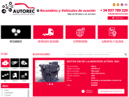 Autorec, especialista en recambios usados para vehículo industrial, actualiza su web