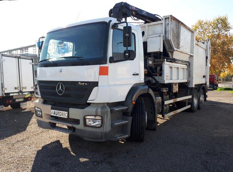 Camion d'ordures Mercedes Axor 2528  - 1